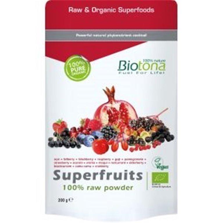 Jugo de frutas en polvo, 200 gr