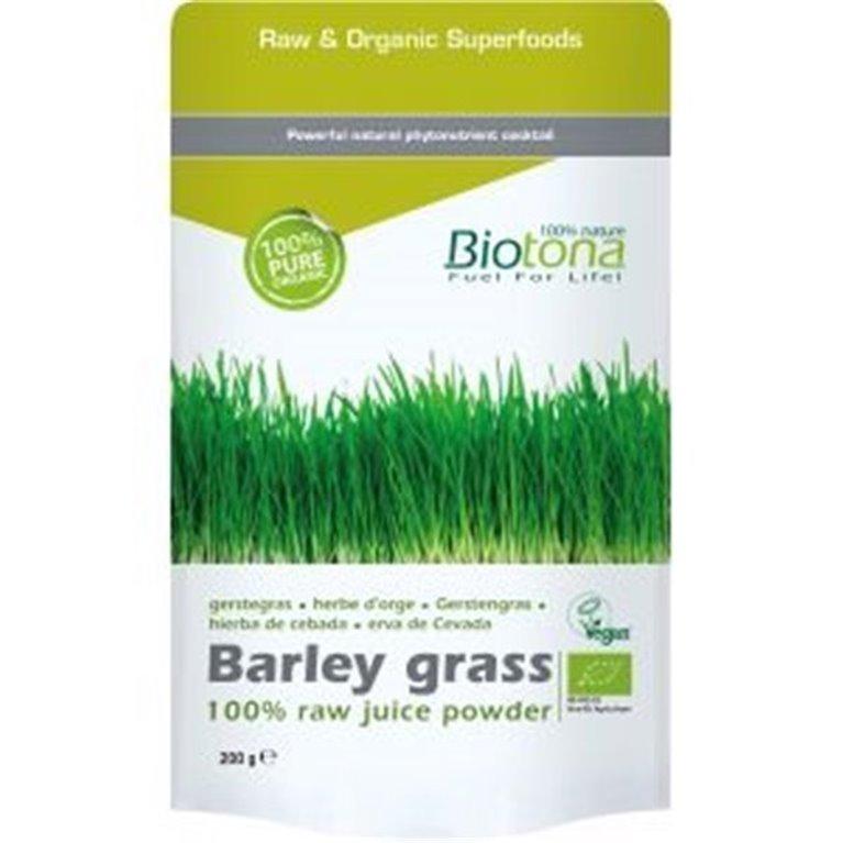 Jugo de hierba de cebada en polvo, 200 gr