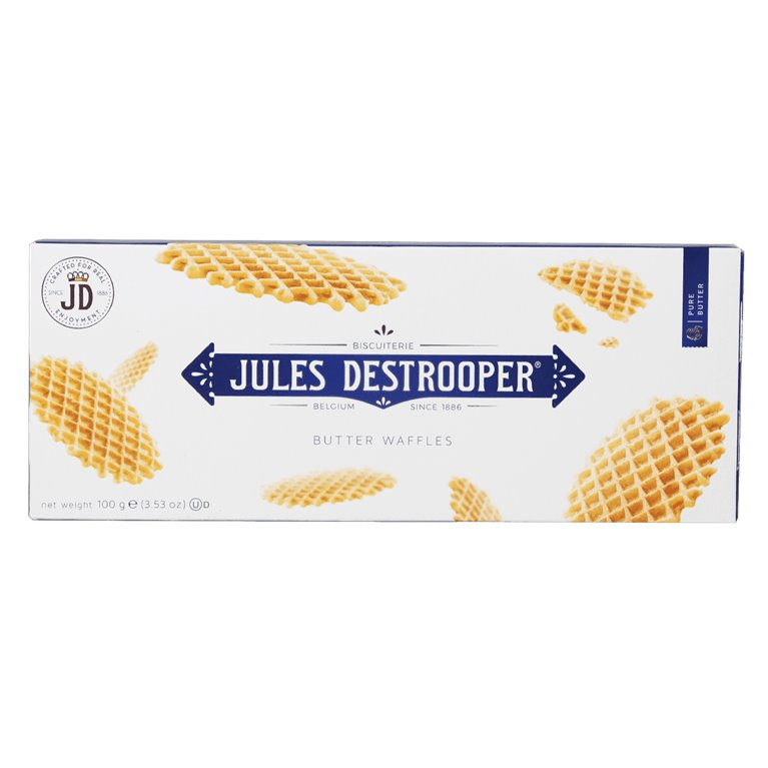 Jules Destrooper Gofres de Mantequilla 100g