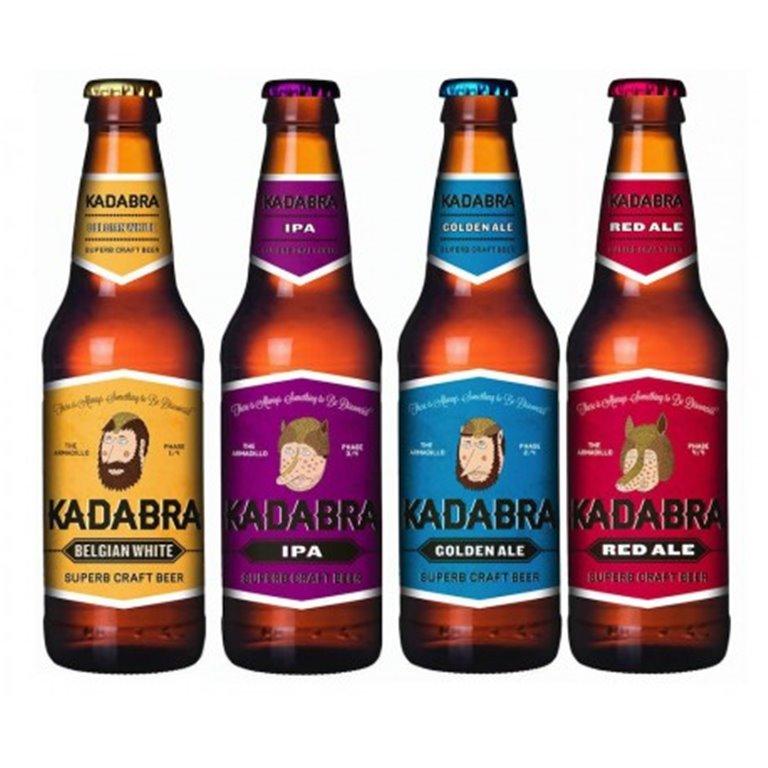 Kadabra Pack Selección (Belgian White, IPA, Golden Ale y Red Ale)