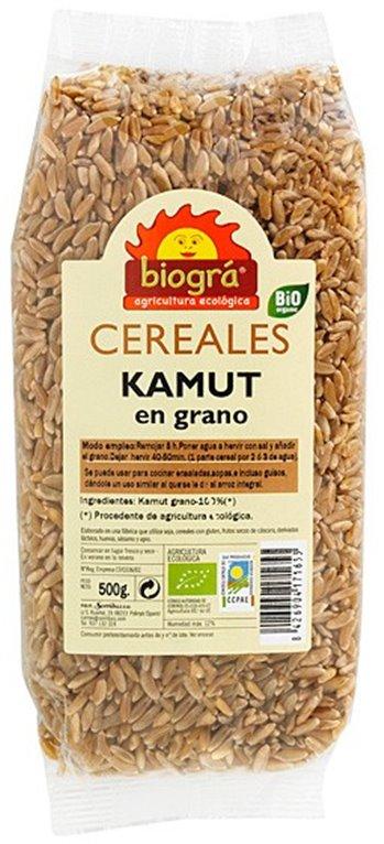 TRIGO khorasan KAMUT® en Grano Bio 500g