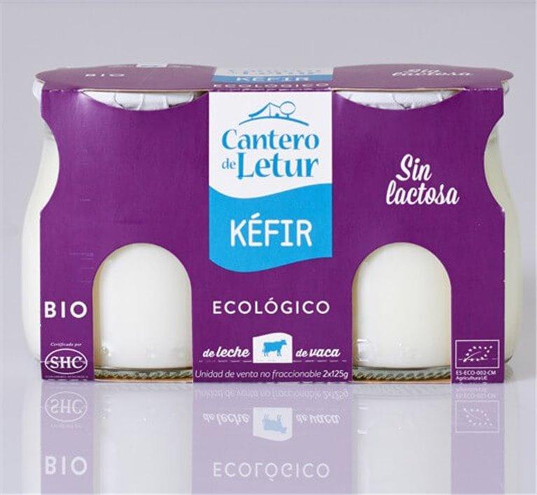 Kéfir de vaca (sin lactosa), 250 gr