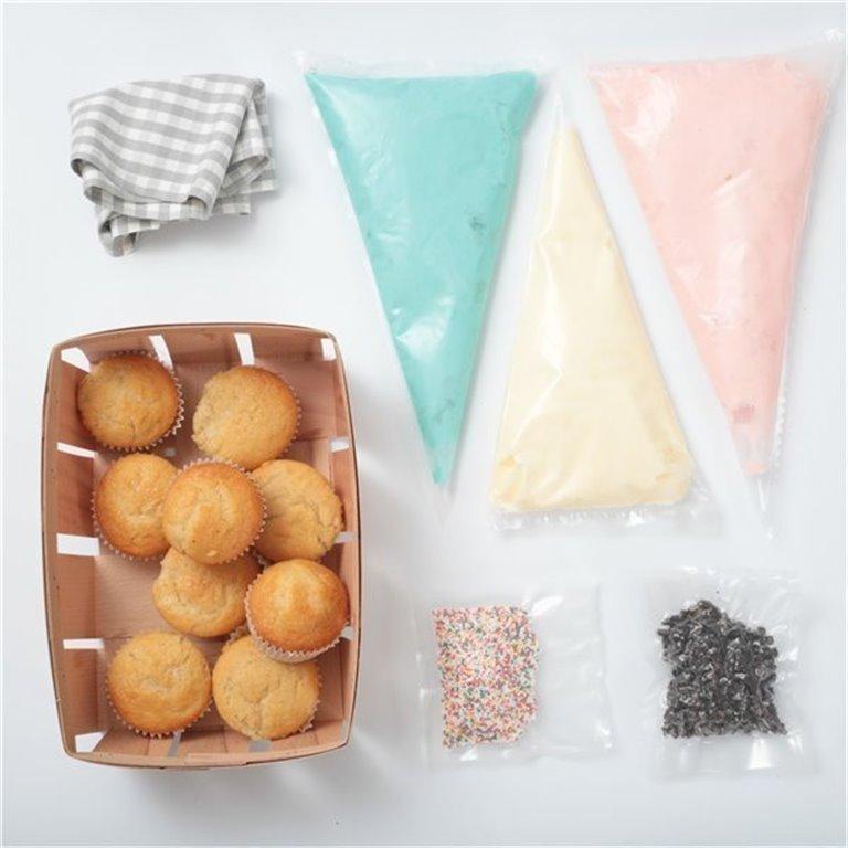 Kit cupcakes en casa