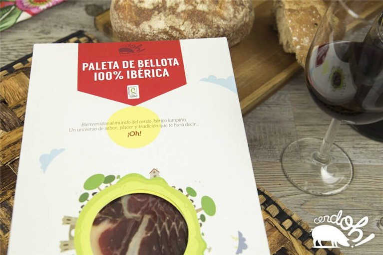 Kit de Paleta de bellota 100% ibérica  (5 sobres de 100 g)