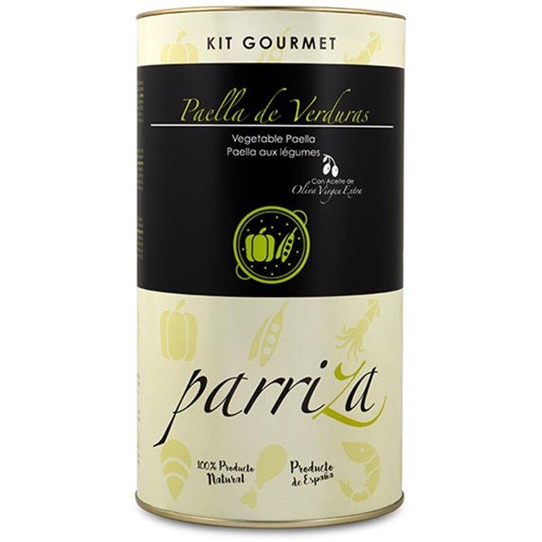 Kit Gourmet Paella Verduras y Boletus, 1 ud