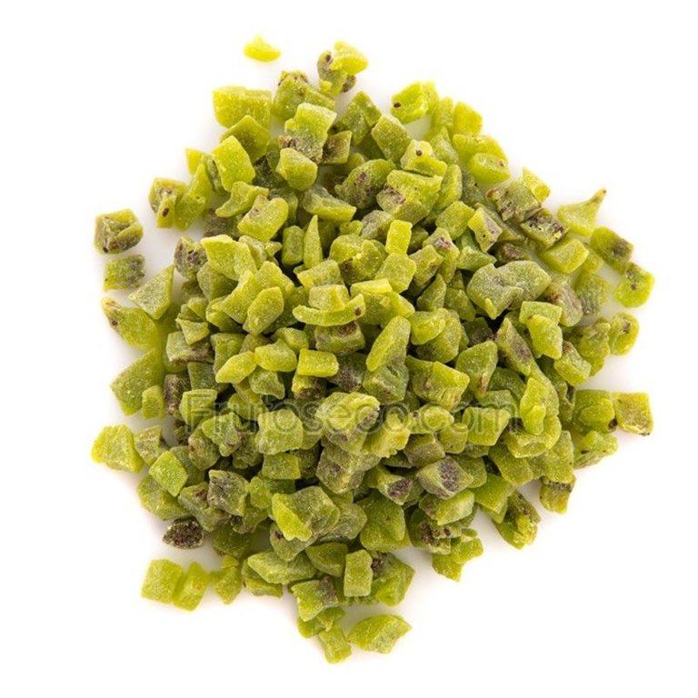 Kiwi deshidratado en dados, bandeja 250 gramos., 1 ud