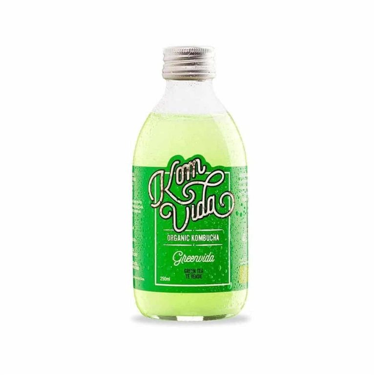 KOMVIDA - Greenvida Organic Kombucha Green Tea 250ml