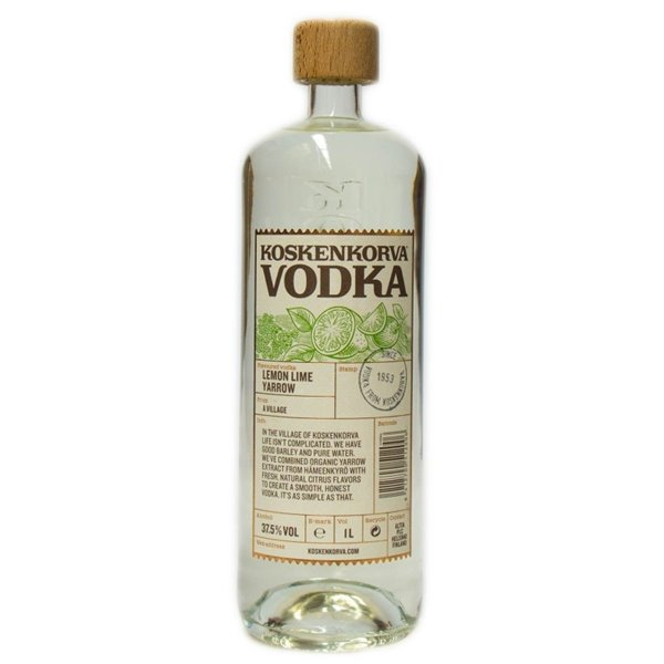 KOSKENKORVA LEMON LIME YARROW 1L.