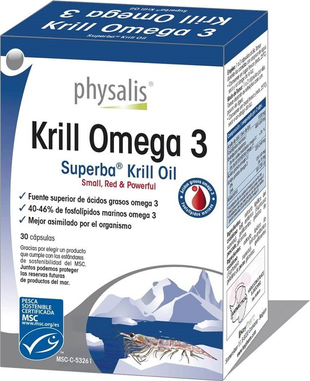 Krill Omega 3, 30 gr