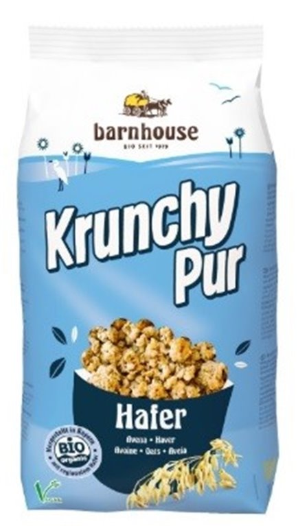 Krunchy con Avena (Sin Azúcar) Bio 375g