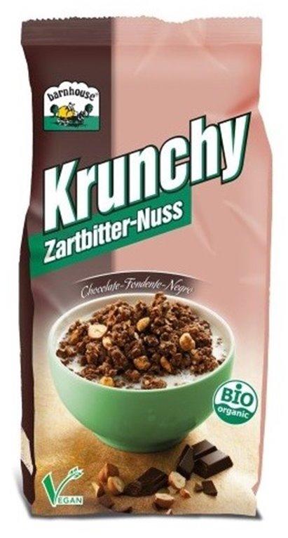 Crunchy con Chocolate y Avellanas Bio 375g, 1 ud