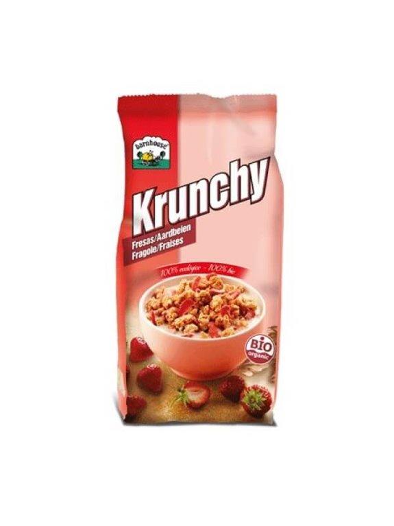 Krunchy con fresas, 700 gr