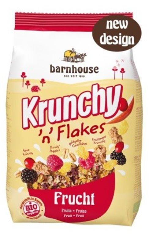 Krunchy con Frutas Bio 375g
