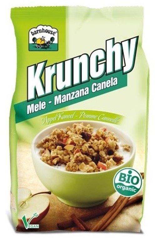 Crunchy con Manzana y Canela Bio 600g, 1 ud