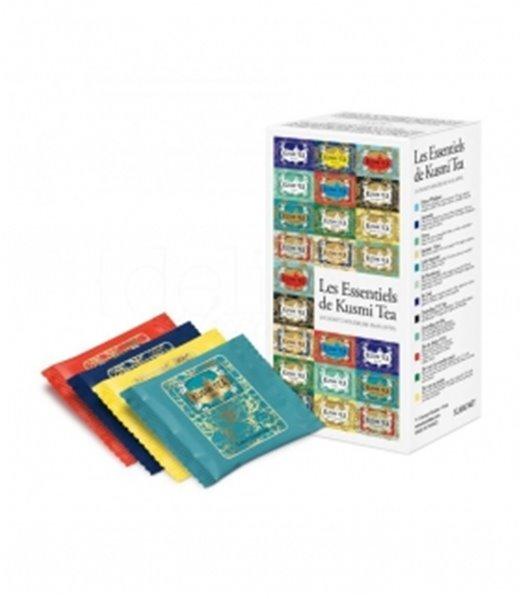 Kusmi Tea Essentials (Surtido 24 Muslins). Kusmi Tea. 10un.