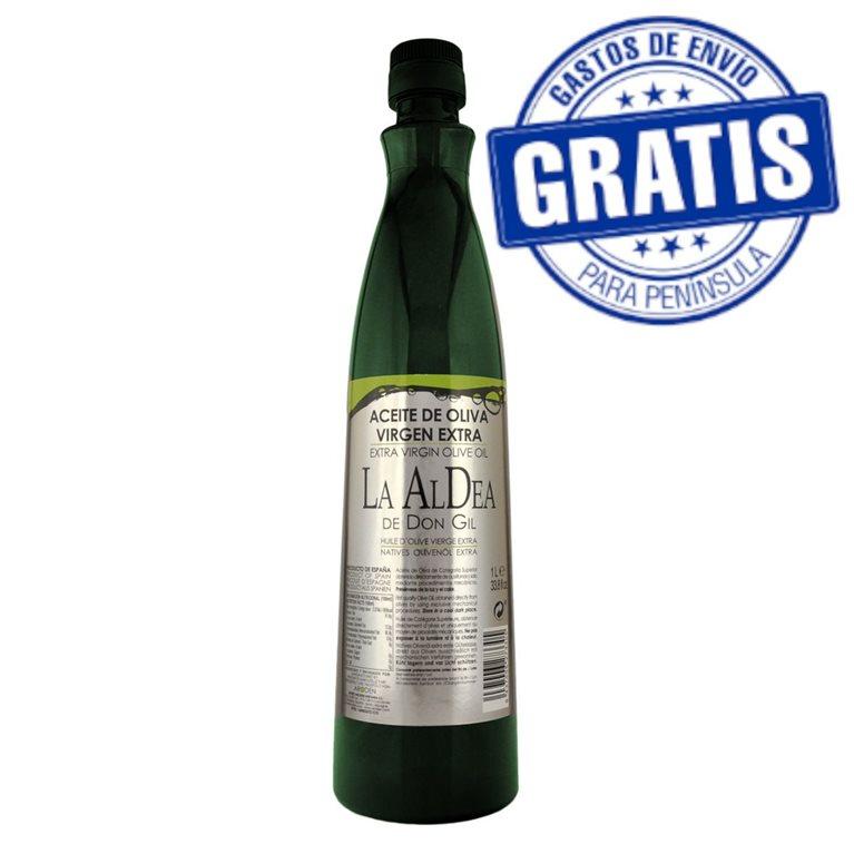 La Aldea de Don Gil. Caja de 15 botellas PET de 1 litro.