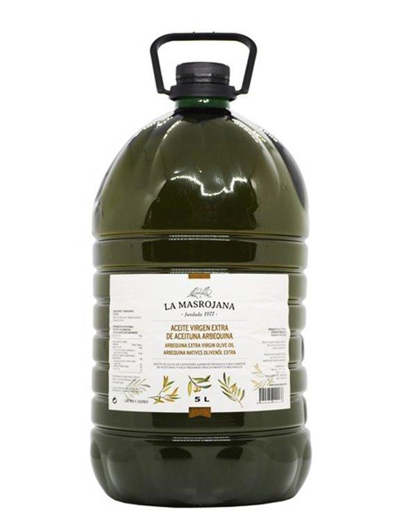 La Masrojana extra virgin olive oil 5L bottle