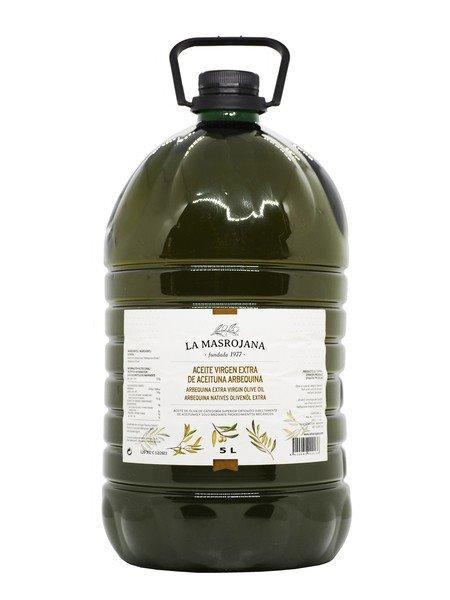 La Masrojana aceite virgen extra garrafa 5L