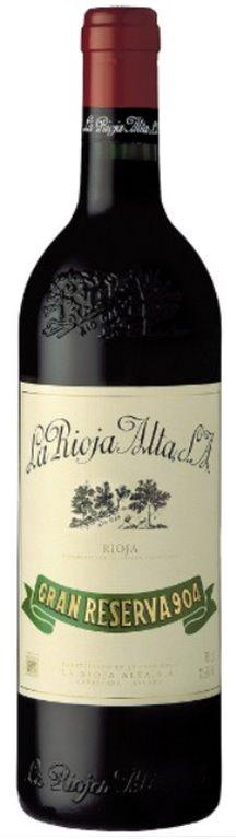 La Rioja Alta Gran Reserva 904 2009, 1 ud