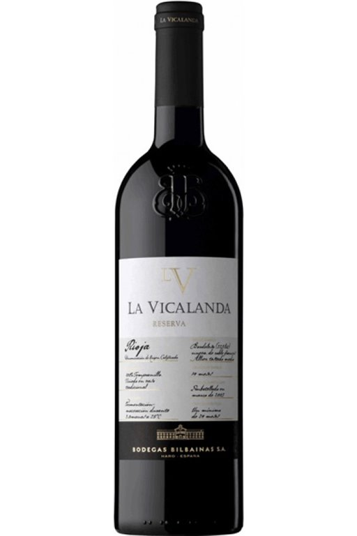 La Vicalanda Reserva 2012, 1 ud