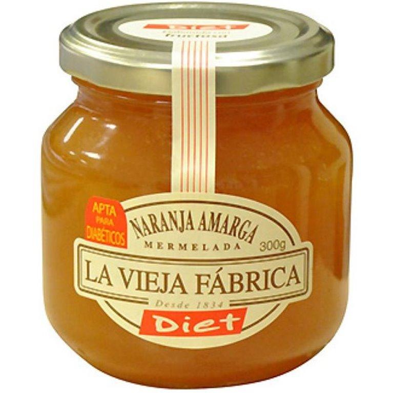 La Vieja Fábrica - Mermelada de naranja amarga diet (apta para diabéticos, sin gluten)