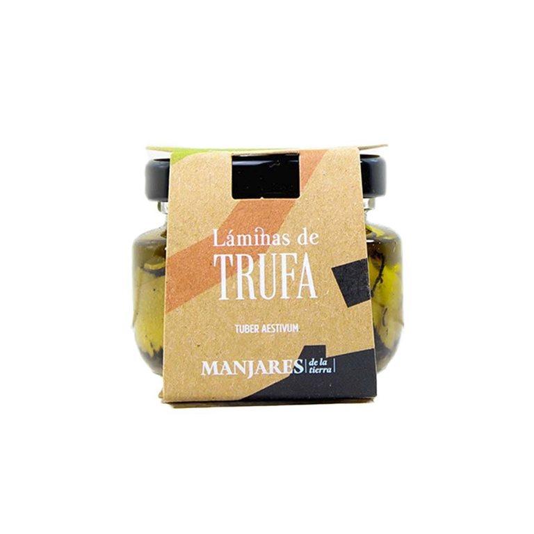 Laminas de Trufa en aceite 50 g Manjares de la Tierra