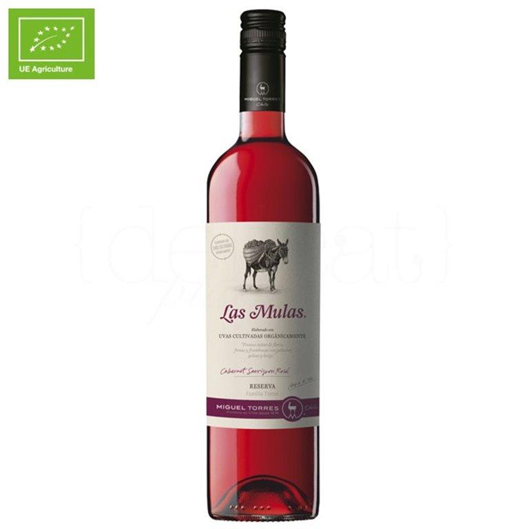 Las Mulas Cabernet Sauvignon Rosé 75cl. Miguel Torres Chile. 6un., 1 ud