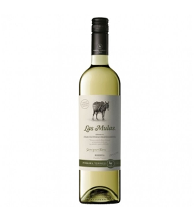 Las Mulas Sauvignon Blanc 75cl. Miguel Torres Chile. 6un.