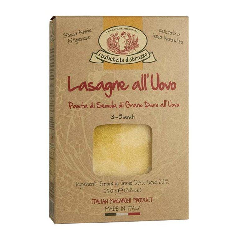 Lasagne all'Uovo 250gr. Rustichella D'abruzzo. 12un., 1 ud