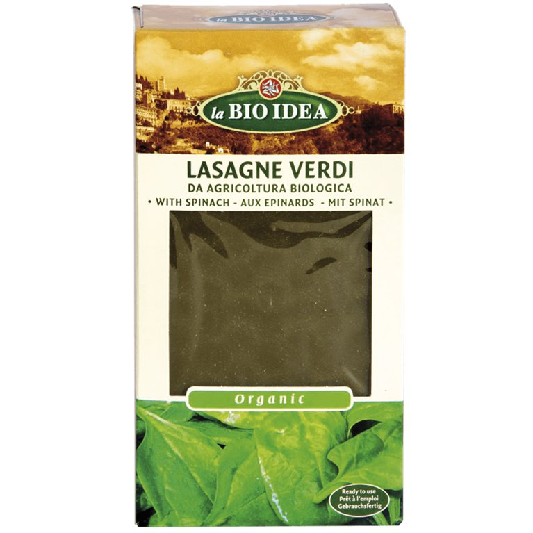 Lasagne de Espinacas Bio 250g, 1 ud