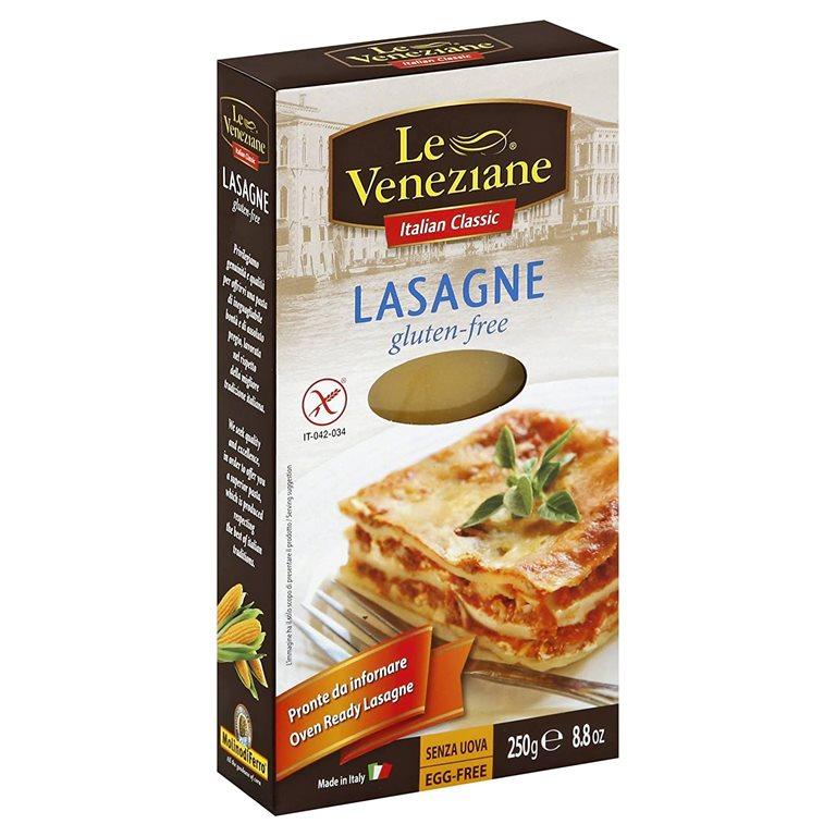 Lasagne de Maíz y Arroz Sin Gluten 250g