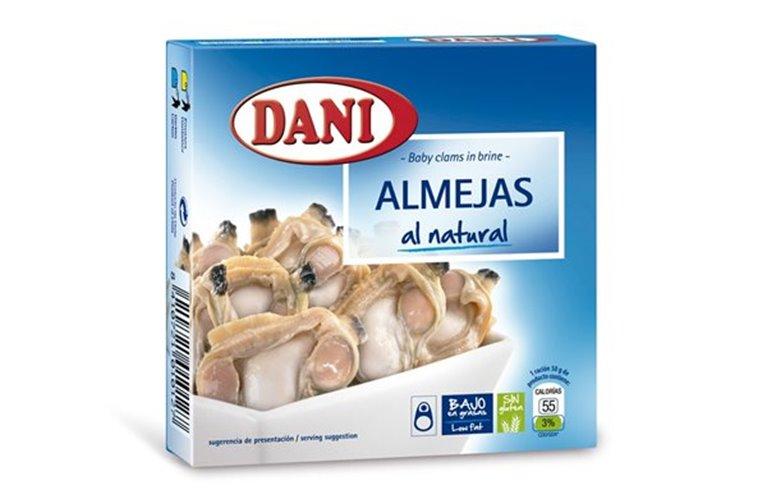 Almejas al natural Dani, 1 ud