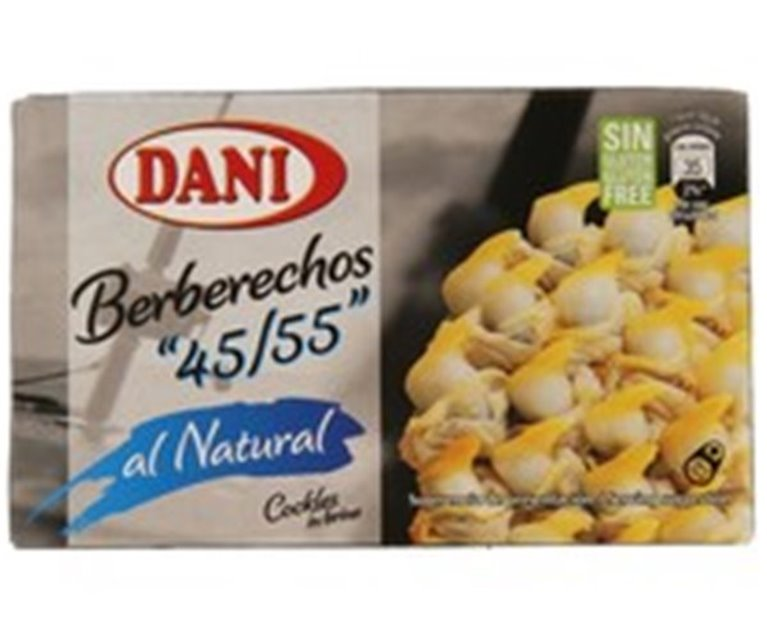 "Lata Berberechos al natural Dani ""45/55"""