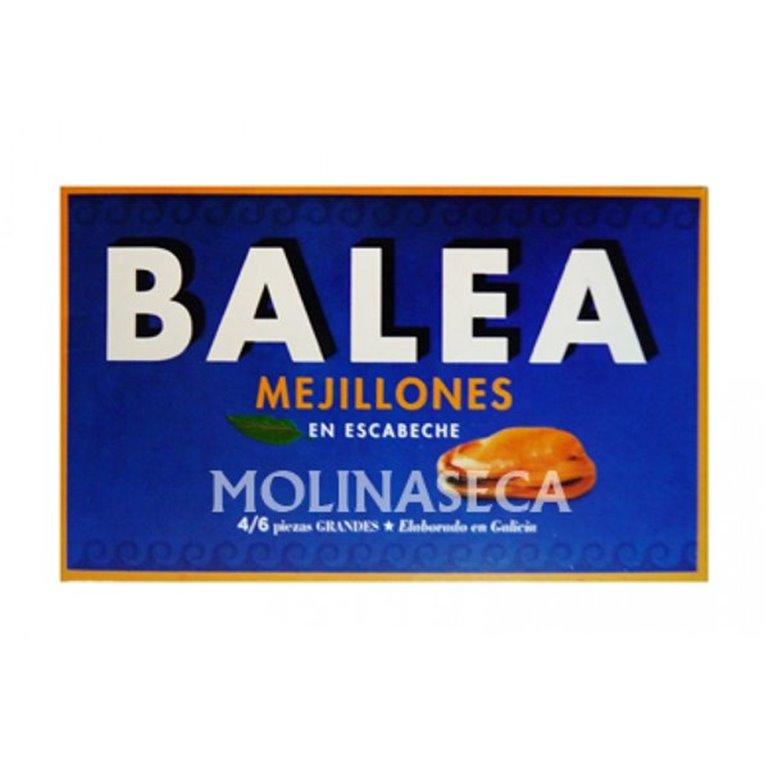 Lata mejillones en escabeche Balea 4/6 piezas