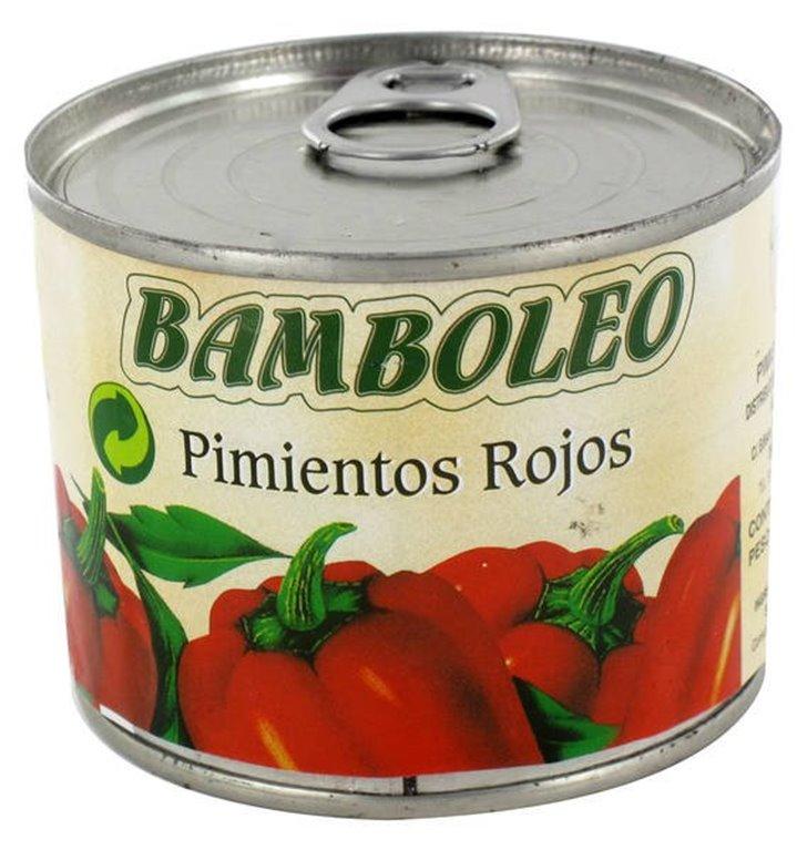 Bamboleo - pimientos rojos