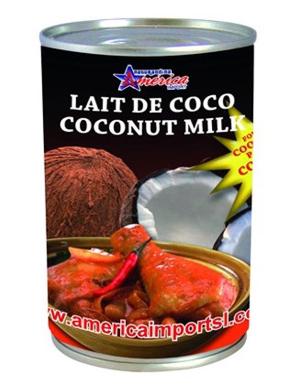 LECHE DE COCO AMERICA 400ML