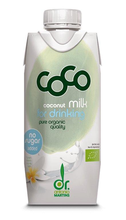 Leche de Coco Bio 330ml