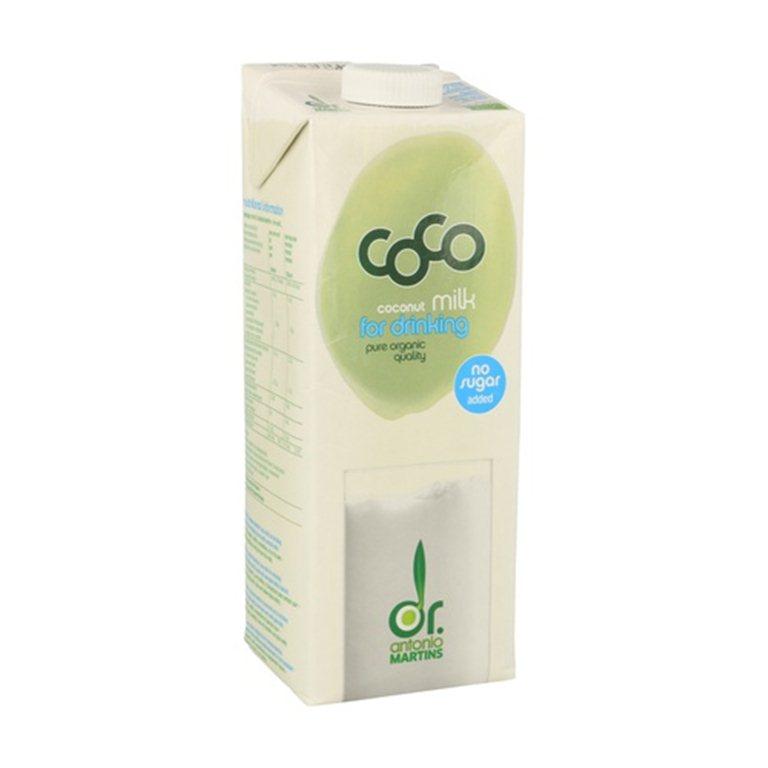 Leche de coco orgánica 1 L, 1 l
