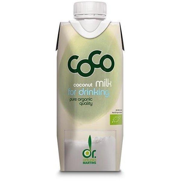 Leche de Coco para Beber Bio 330ml