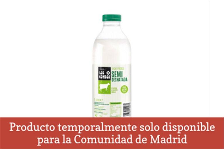 Fresh semi-skimmed milk (Bottle - 1l)