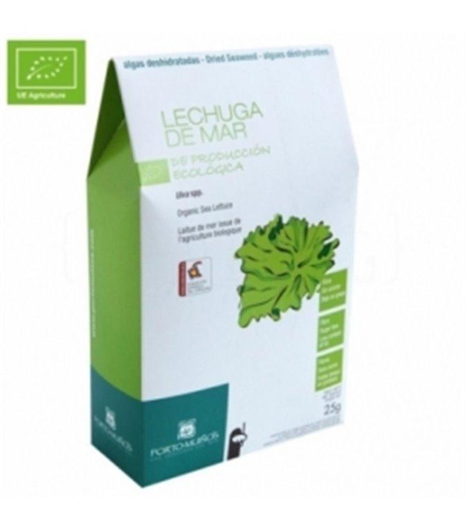 Sea lettuce dehydrated ECO 25gr. Porto-Muiño. 8un.