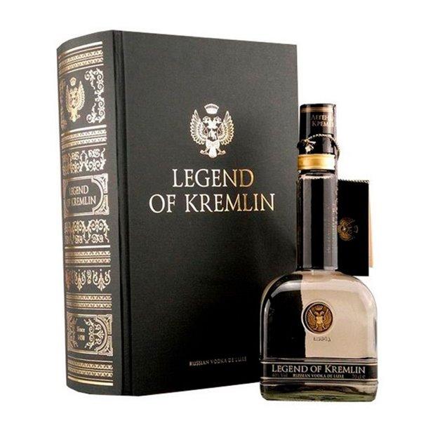 LEGEND OF KREMLIN + LIBRO / BOOK 0,70 LITROS 40º