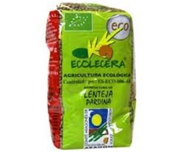 Organic pardina lentils Ecolecera
