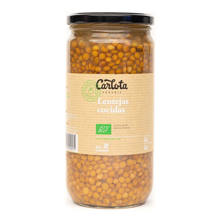 Cooked lentils 720g
