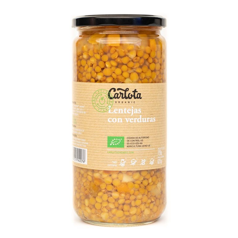 Lentils with vegetables 720g
