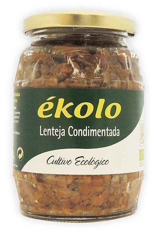 Lentejas Condimentadas, 370 gr