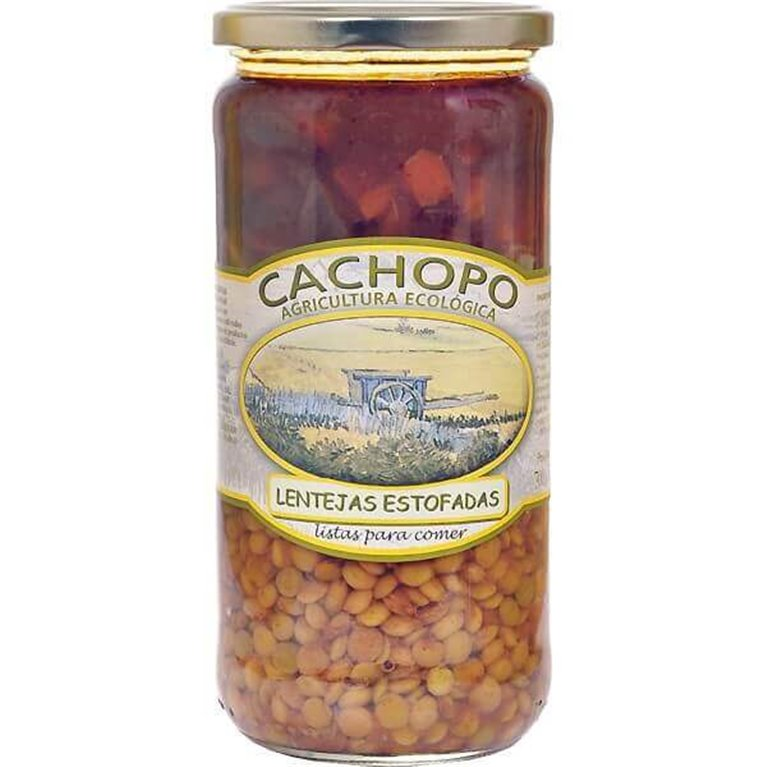 Lentejas estofadas BIO - Cachopo