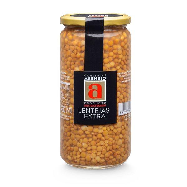 Lentejas Extra frasco 700 gramos