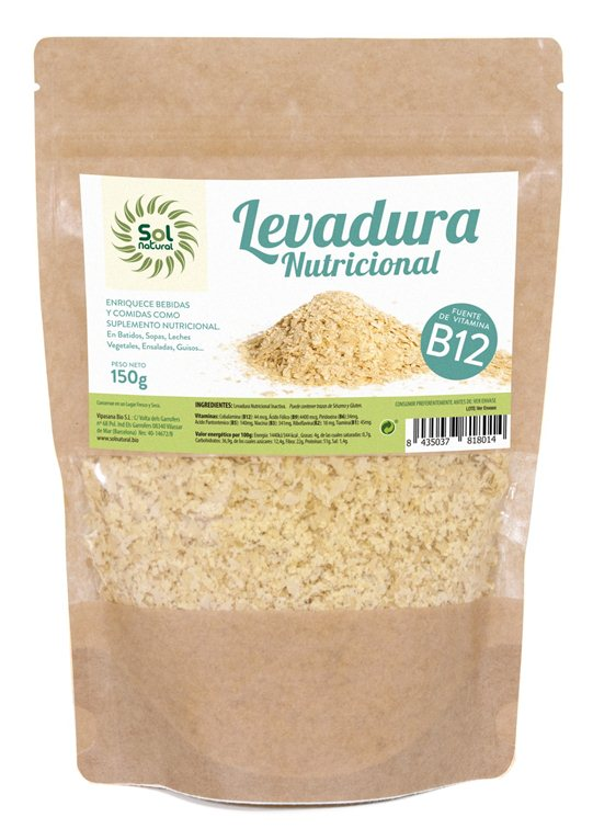 Levadura nutricional, 150 gr