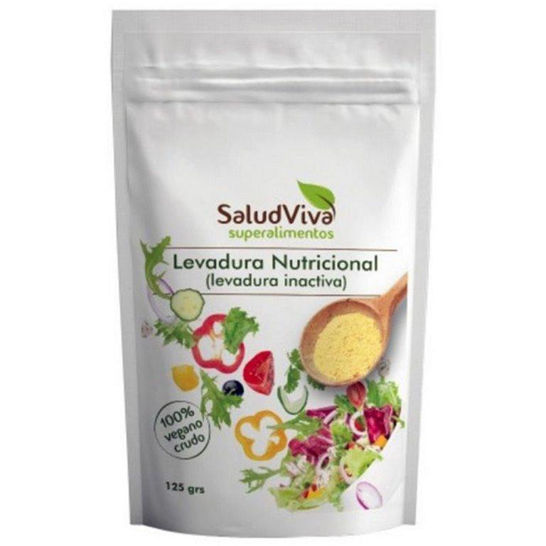 Levadura Nutricional con Vitamina B12 Sin Gluten 125g